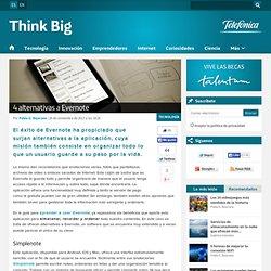 4 alternativas a EvernoteThink Big