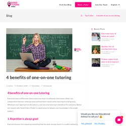 4 benefits of one-on-one tutoring