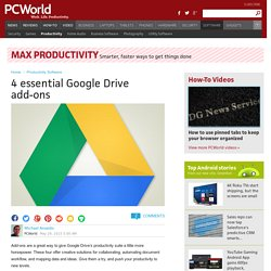 4 essential Google Drive add-ons