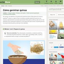 4 formas de germinar quinoa - wikiHow
