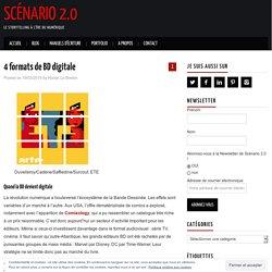 4 formats de BD digitale
