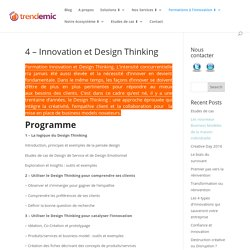 Innovation et Design Thinking