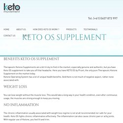 4 Keto OS supplement