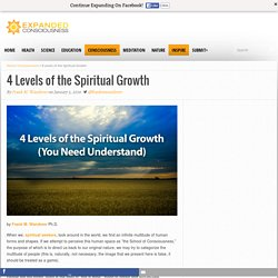4 Levels of the Spiritual Growth