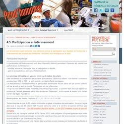 4.5. Participation et intéressement