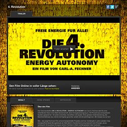 Die 4. Revolution Energy Autonomy