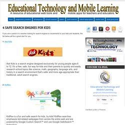 4 Safe Search Engines for Kids