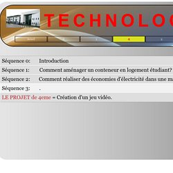 4 / TECHNOLOGIE COLLEGE QUIGNON