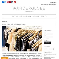 4 Tip To Start Your Boutique