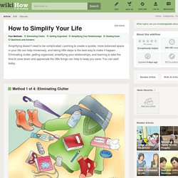 4 Ways to Simplify Your Life