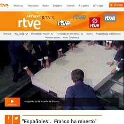 40 años de la muerte de Franco