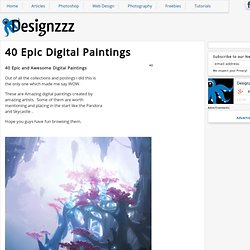 40 Epic Digital Paintings