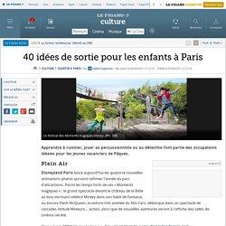 40 idées de sortie pour les enfants à Paris