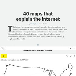 40 maps that explain the internet