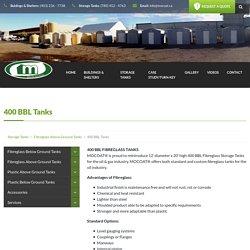 400 BBL Tanks - Mocoat Solutions