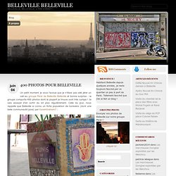 400 photos pour Belleville
