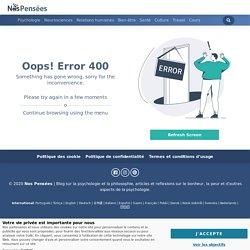 400 - Server error