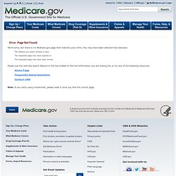 Coverage choice Original Medicare or a Medicare Advantage Plan