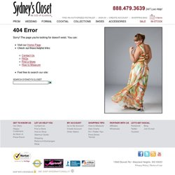 Prom dresses, plus size prom dress, plus size dresses, whatever you're looking for - Sydney's closet makes dreams come true.