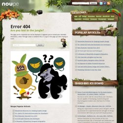 Gimp - Noupe Design Blog