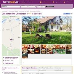 Casa Moșului Guesthouse Cârțișoara, +40770250761 — Travelminit.ro