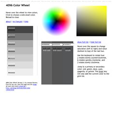4096 Color Wheel Version 2.1