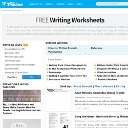 318 Free Writing Worksheets
