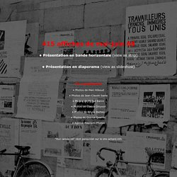 415 affiches mai-juin 68