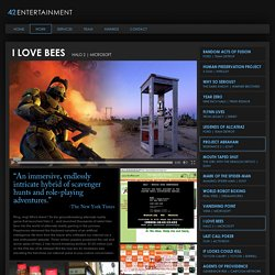 i love bees: 42 Entertainment