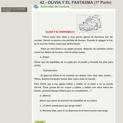 42 - OLIVIA Y EL FANTASMA (1ª Parte)