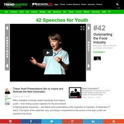 42 Speeches for Youth