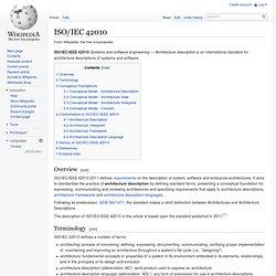 ISO/IEC 42010