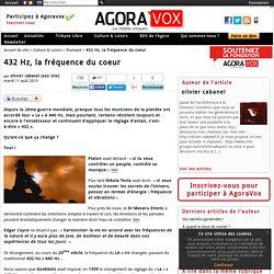 432 Hz, la fr quence du coeur - AgoraVox le m dia citoyen