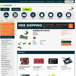 433Mhz RF link kit [WLS107B4B] - $4.90