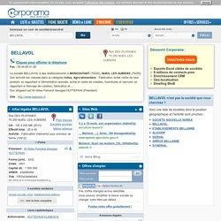 Société BELLAVOL à NUEIL LES AUBIERS, 79250 (SIREN 434080404) : infos légales, contacts et actualités sur Corporama