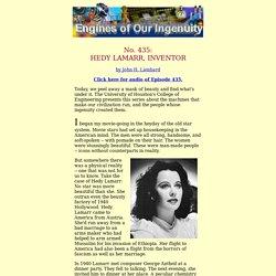435: Hedy Lamarr, Inventor