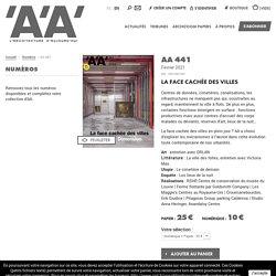 AA 441 - L'Architecture d'Aujourd'hui, à lire au pôle documentaire!