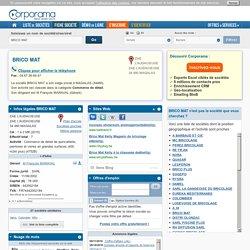 Société BRICO MAT à MAGALAS, 34480 (SIREN 442002184) : infos légales, contacts et actualités sur Corporama