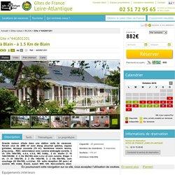 Location Gîte Blain, n°44G801201 - 20 personnes (44 - Loire-Atlantique)
