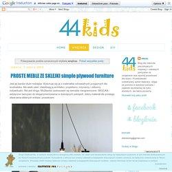 44kids. Wnętrza dla dzieci: design/DIY: wnętrza