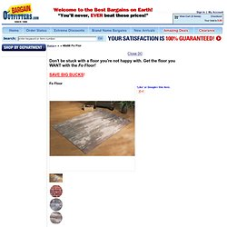 46x66 Fo Flor - 227246, Rugs at Bargain Outfitters
