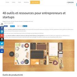 47 outils et ressources pour Startup
