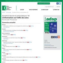 Exposition prénatale à l'alcool : expression clinique à l'âge adulte (ADSP n° 48)