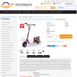 49cc Scooterx Dirt Dog Mini Gas Scooter