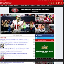 49erswebzone.com - San Francisco 49ers Resource