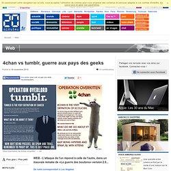 4chan vs tumblr, guerre aux pays des geeks