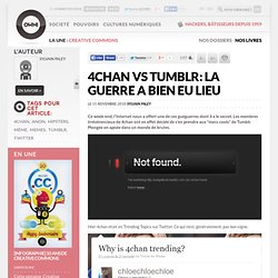 4chan vs Tumblr: la guerre a bien eu lieu » Article » OWNI, Digital Journalism