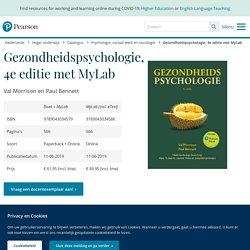 Gezondheidspsychologie. (2018)