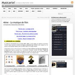 4ème – La musique de film