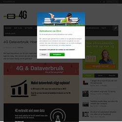 4G Dataverbruik: Hoeveel MB heb ik nodig? - 4G.nl